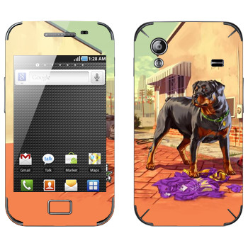 Виниловая наклейка «Чоп - GTA5» на телефон Samsung Galaxy Ace