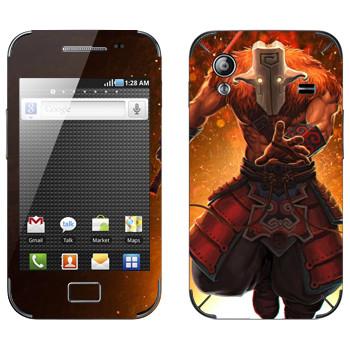 Виниловая наклейка «Джаггернаут - Dota 2» на телефон Samsung Galaxy Ace