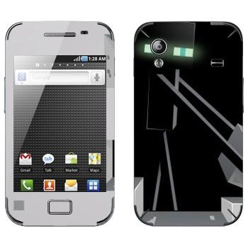 Виниловая наклейка «Эндермен - Minecraft» на телефон Samsung Galaxy Ace