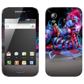 Виниловая наклейка «Эвелина - Оставляющая Вдов» на телефон Samsung Galaxy Ace