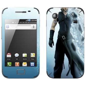 Виниловая наклейка «Клауд Страйф - Final Fantasy» на телефон Samsung Galaxy Ace