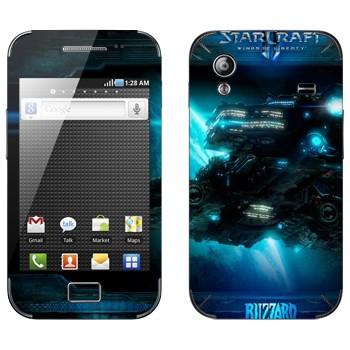 Виниловая наклейка «Крейсер - StarCraft 2» на телефон Samsung Galaxy Ace