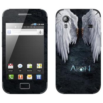 Виниловая наклейка «Крылья ангела - Aion» на телефон Samsung Galaxy Ace