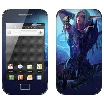 Виниловая наклейка «Ночной Эльф - World of Warcraft» на телефон Samsung Galaxy Ace