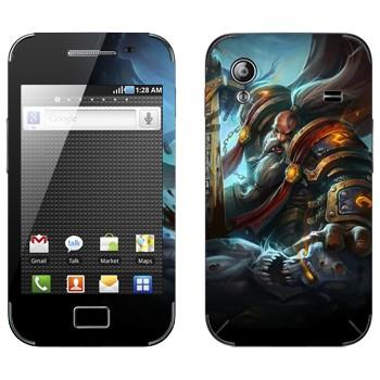 Виниловая наклейка «Паладин гном - World of Warcraft» на телефон Samsung Galaxy Ace