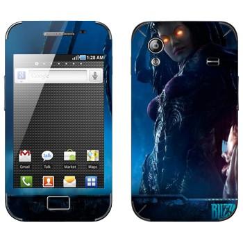 Виниловая наклейка «Сара Керриган - StarCraft 2» на телефон Samsung Galaxy Ace
