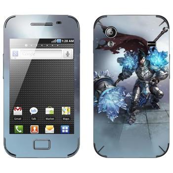 Виниловая наклейка «Тарик - Самоцветный рыцарь» на телефон Samsung Galaxy Ace