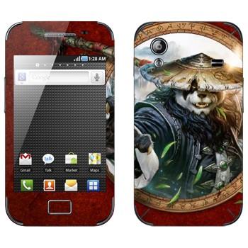Виниловая наклейка «Туманы Пандарии» на телефон Samsung Galaxy Ace