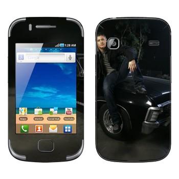 Виниловая наклейка «Дин Винчестер - Сверхъестественное» на телефон Samsung Galaxy Gio