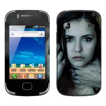Виниловая наклейка «Елена Гилберт - The Vampire Diaries» на телефон Samsung Galaxy Gio