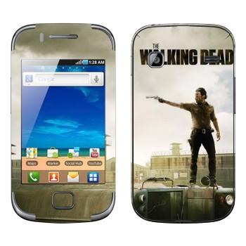 Виниловая наклейка «Ходячие мертвецы» на телефон Samsung Galaxy Gio
