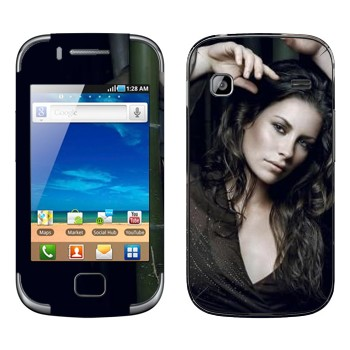 Виниловая наклейка «Кейт Остин - Lost» на телефон Samsung Galaxy Gio