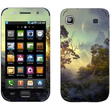 Виниловая наклейка «Лес на Пандоре» на телефон Samsung Galaxy S