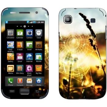 Виниловая наклейка «Паутина» на телефон Samsung Galaxy S
