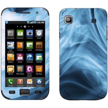 Виниловая наклейка «Синий дым» на телефон Samsung Galaxy S