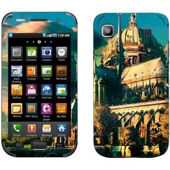 Виниловая наклейка «Сказочный замок» на телефон Samsung Galaxy S