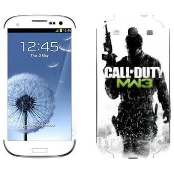 Виниловая наклейка «Call of Duty: Modern Warfare 3» на телефон Samsung Galaxy S3