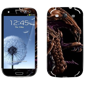 Виниловая наклейка «Hydralisk» на телефон Samsung Galaxy S3