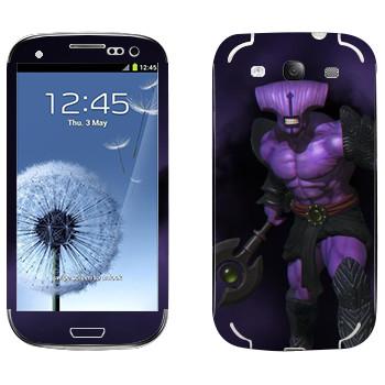 Виниловая наклейка «Безликий ужас - Dota 2» на телефон Samsung Galaxy S3