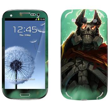 Виниловая наклейка «Король призраков - Dota 2» на телефон Samsung Galaxy S3