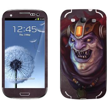 Виниловая наклейка «Лион - Dota 2» на телефон Samsung Galaxy S3