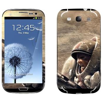 Виниловая наклейка «Морпех - StarCraft 2» на телефон Samsung Galaxy S3