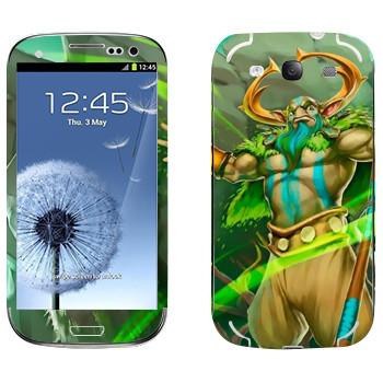 Виниловая наклейка «Пророк природы - Dota 2» на телефон Samsung Galaxy S3