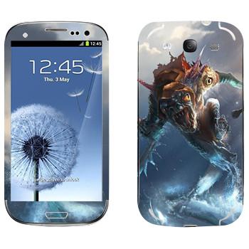 Виниловая наклейка «Сларк - Dota 2» на телефон Samsung Galaxy S3