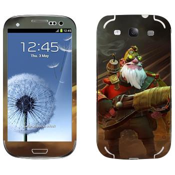 Виниловая наклейка «Снайпер - Dota 2» на телефон Samsung Galaxy S3