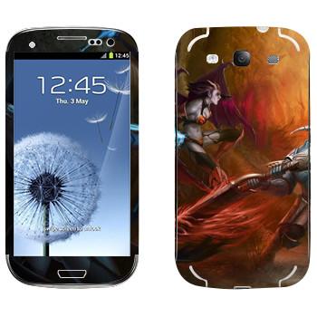 Виниловая наклейка «Свен - Dota 2» на телефон Samsung Galaxy S3