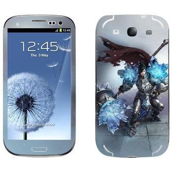 Виниловая наклейка «Тарик - Самоцветный рыцарь» на телефон Samsung Galaxy S3