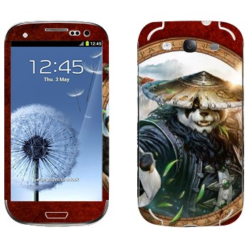 Виниловая наклейка «Туманы Пандарии» на телефон Samsung Galaxy S3