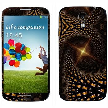 Виниловая наклейка «Калейдоскоп далекая звезда» на телефон Samsung Galaxy S4