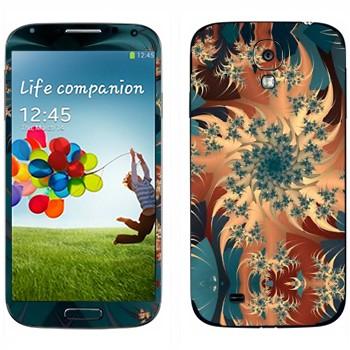 Виниловая наклейка «Калейдоскоп карусель» на телефон Samsung Galaxy S4