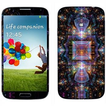 Виниловая наклейка «Калейдоскоп космический» на телефон Samsung Galaxy S4
