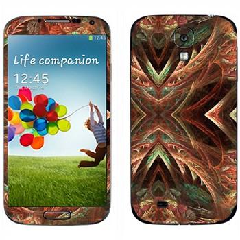 Виниловая наклейка «Калейдоскоп лес» на телефон Samsung Galaxy S4