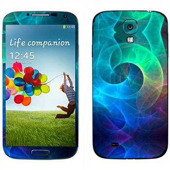 Виниловая наклейка «Калейдоскоп морские волны» на телефон Samsung Galaxy S4
