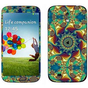 Виниловая наклейка «Калейдоскоп цветной» на телефон Samsung Galaxy S4