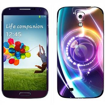Виниловая наклейка «Объектив нереальный» на телефон Samsung Galaxy S4