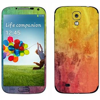 Виниловая наклейка «Радужный мираж» на телефон Samsung Galaxy S4