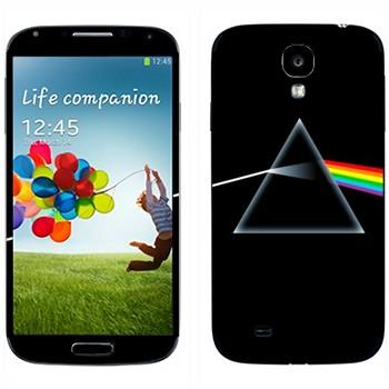 Виниловая наклейка «Свет сквозь призму» на телефон Samsung Galaxy S4