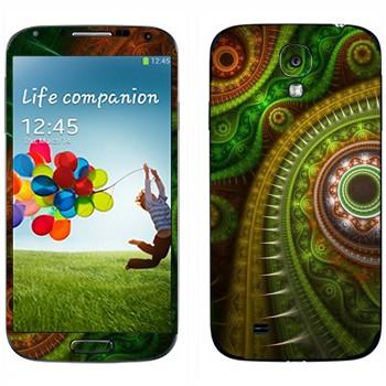 Виниловая наклейка «Узор в восточном стиле» на телефон Samsung Galaxy S4