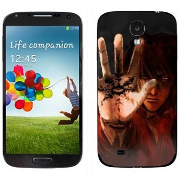Виниловая наклейка «Hellsing» на телефон Samsung Galaxy S4