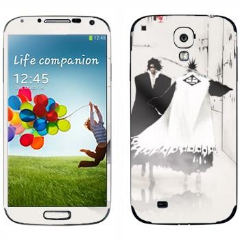Виниловая наклейка «Kenpachi Zaraki» на телефон Samsung Galaxy S4