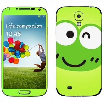 Виниловая наклейка «Keroppi» на телефон Samsung Galaxy S4
