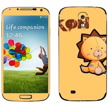 Виниловая наклейка «Kon - Bleach» на телефон Samsung Galaxy S4