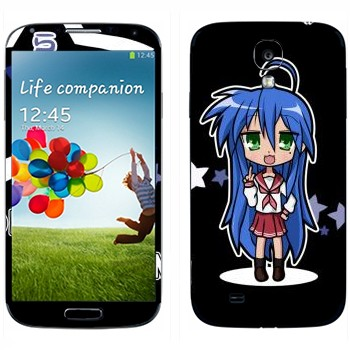 Виниловая наклейка «Konata Izumi - Lucky Star» на телефон Samsung Galaxy S4