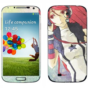 Виниловая наклейка «Megurine Luka - Vocaloid» на телефон Samsung Galaxy S4