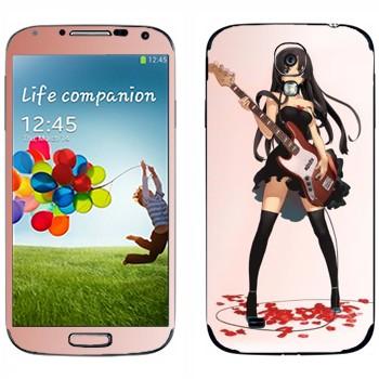 Виниловая наклейка «Mio Akiyama» на телефон Samsung Galaxy S4