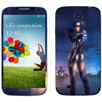 Виниловая наклейка «Motoko Kusanagi - Ghost in the Shell» на телефон Samsung Galaxy S4